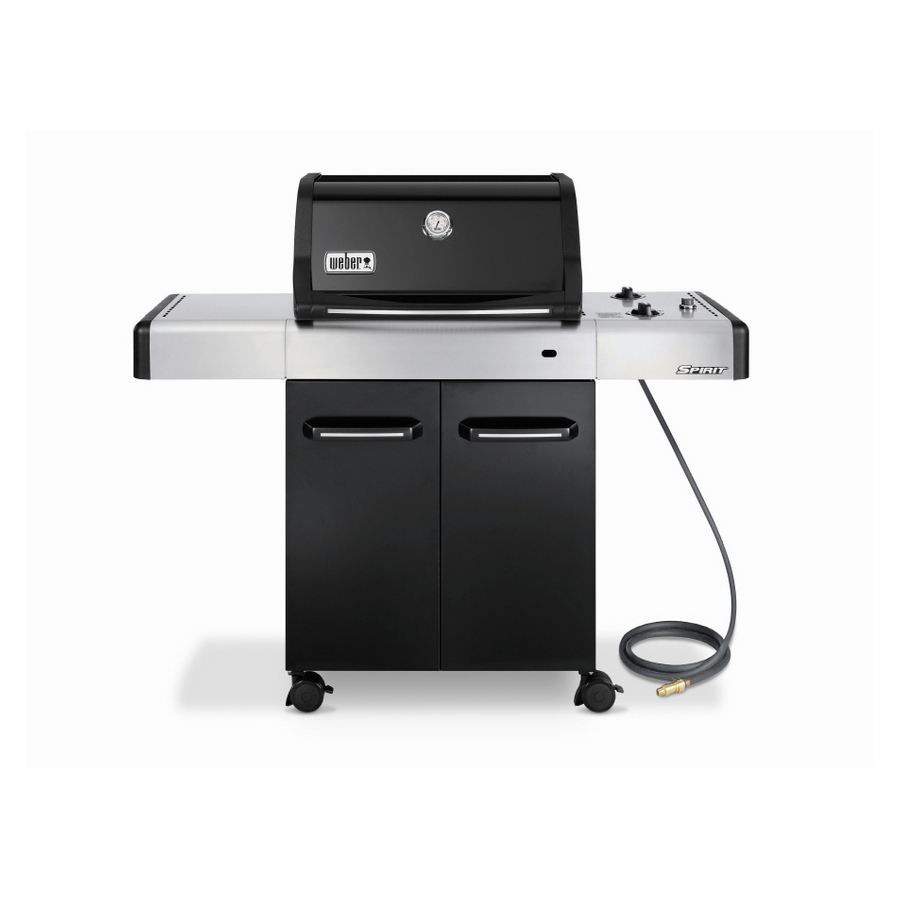 weber spirit e210 grill powerful little grilling machine